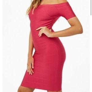 Herve Leger Style Midi Dress!